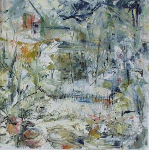(SOLD) Winter garden
